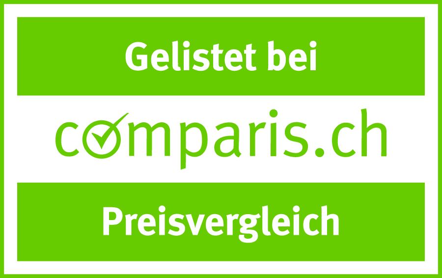Gelistet bei Comparis.ch