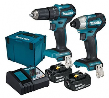 makita dlx2221jx2 akkuschrauber set 18v. Black Bedroom Furniture Sets. Home Design Ideas