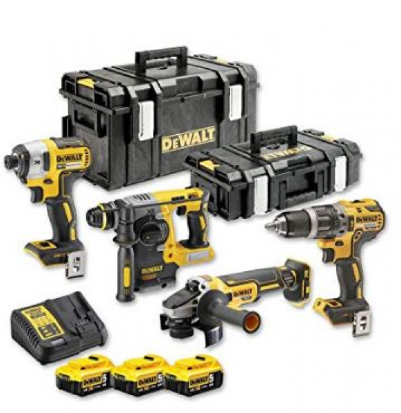 dewalt dck422p3 qw akku maschinen set 18v hardware und software einfach preiswert. Black Bedroom Furniture Sets. Home Design Ideas